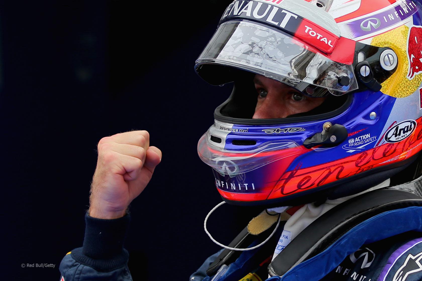 Photo of Vettel'den bir pol daha