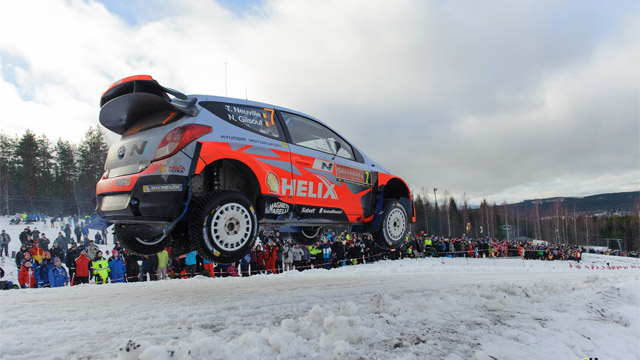 Photo of WRC 2014 İsveç Rallisi Fotoğraf Galerisi