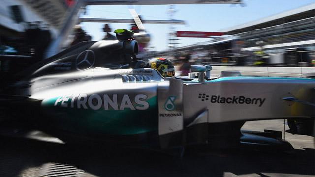 Photo of Almanya'da İlk cep Rosberg'in