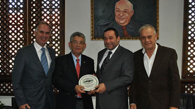 Photo of KKKSOK Denktaş'ı ziyaret etti
