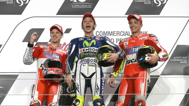 Photo of Rossi Katar'da Ducatileri Yenmeyi Başardı