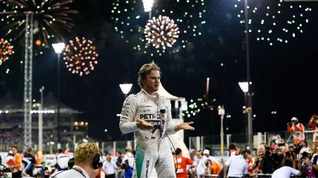 Photo of Rosberg Abu Dhabi'de Kazanarak Sezonu Zaferle Tamamladı