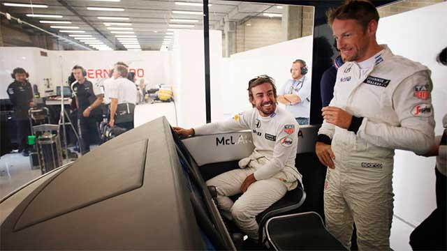 Photo of Alonso ve Button Umutlu