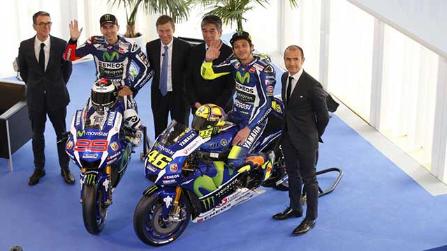 Photo of Yamaha, 2016 MotoGP Motosikletini Tanıttı