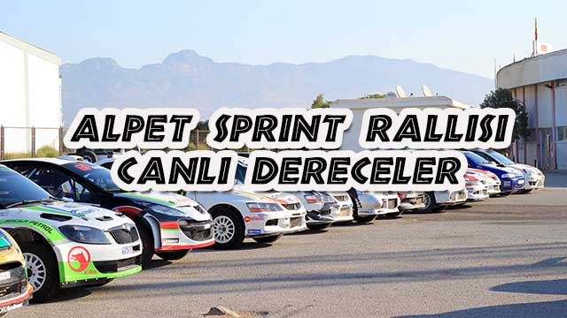 Photo of Alpet Ralli Sprint – Canlı Dereceler