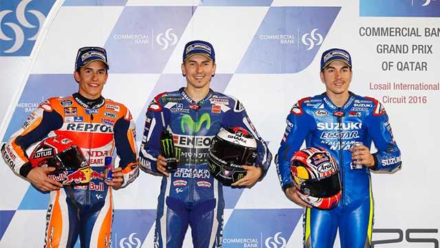 Photo of MotoGP'de Sezonun İlk Pol Pozisyonu Lorenzo'nun