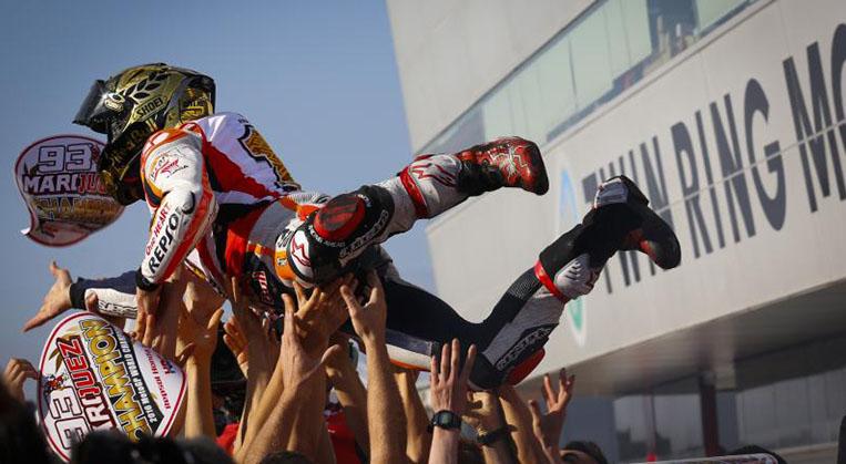 Photo of MotoGP'nin şampiyonu Marquez!