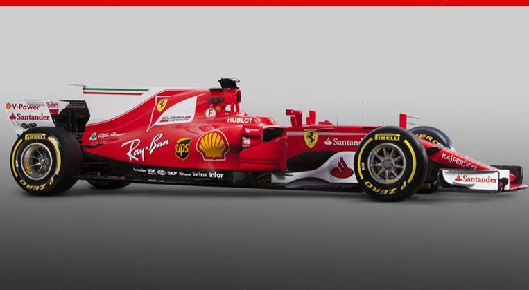 Photo of Ferrari'nin 2017 F1 aracı tanıtıldı