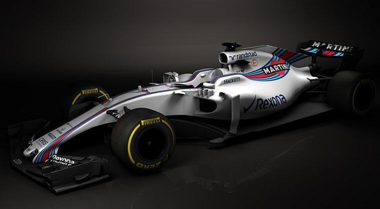 Photo of Williams F1 2017'nin ilk görüntüleri yayınlandı