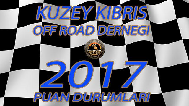 Photo of KKORD 2017 Off Road Şampiyonası Puan Durumları