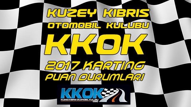 Photo of KKTC 2017 Karting Şampiyonası Puan Durumları