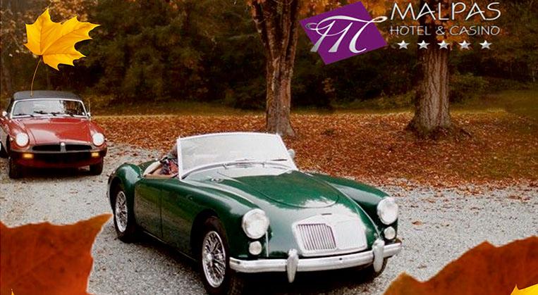 Photo of Malpas Hotel Klasik Otomobil Rallisi yapılıyor