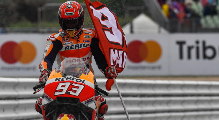 Photo of Misano'da Marquez kazandı