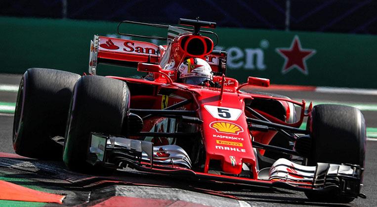 Photo of Meksika'da Pole pozisyonu Vettel'in