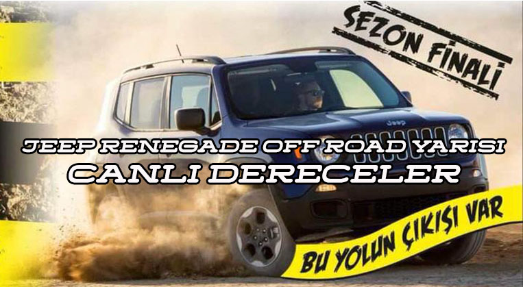 Photo of Jeep Renegade Off Road Yarışı Canlı Dereceler