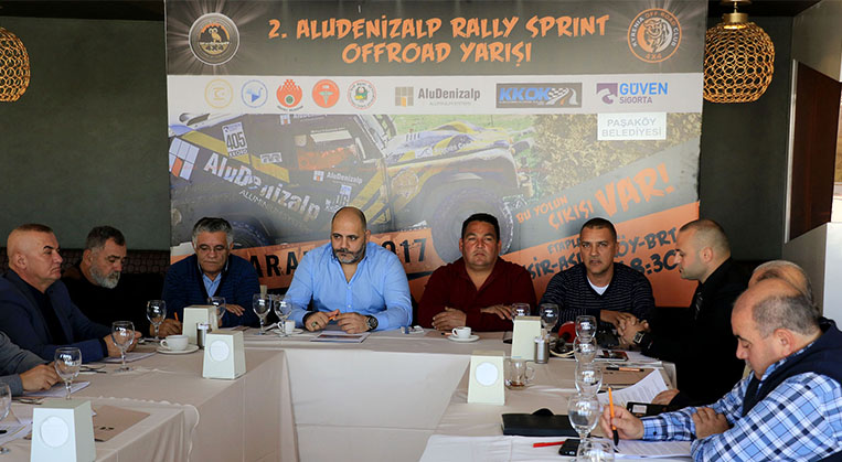 Photo of 2.Alu Denizalp Off Road Rally Sprint Yarışı'nda 19 ekip start alacak