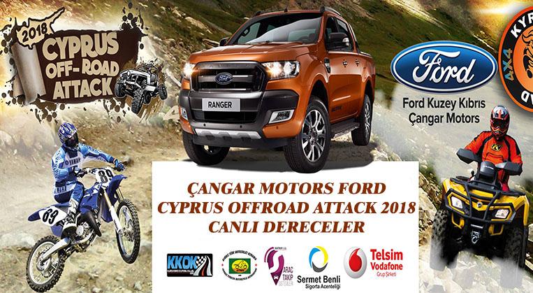 Photo of Çangar Motors Ford Cyprus Offroad Attack 2018-Canlı Dereceler