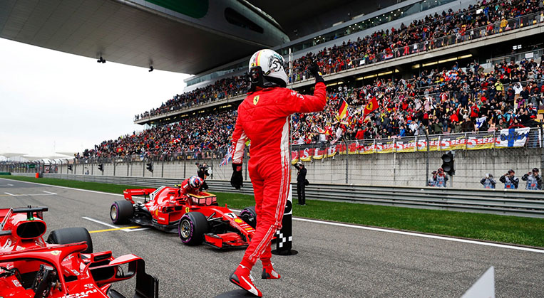 Photo of Çin'de ön sırayı Ferrari aldı