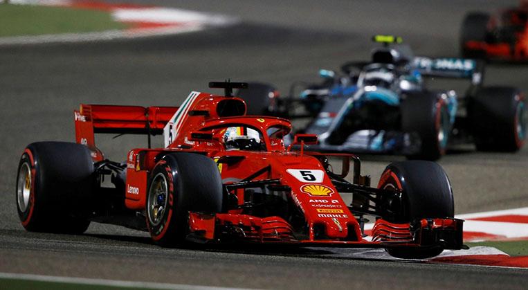 Photo of Vettel Bahreyn'de kazanarak 2'de 2 yaptı