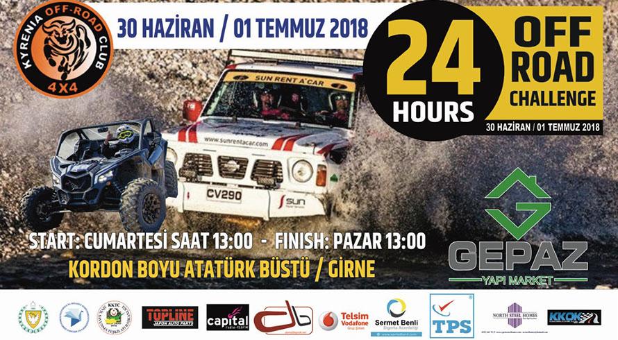 Photo of 24 Saat Offroad Yarışı programı açıklandı