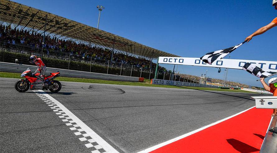 Photo of San Marino'da Dovizioso kazandı, Ducati 1-2'yi kaçırdı