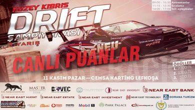 Photo of KKTC 2018 Drift Şampiyonası 3.Ayak – Canlı Puanlar