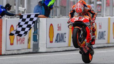Photo of Malezya'da Rossi lider giderken düştü, Marquez kazandı