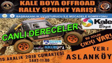 Photo of Kale Boya Offroad Rally-Sprint Canlı Dereceler
