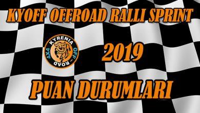 Photo of KYOFF 2019 Offroad Ralli Sprint Puan Durumları