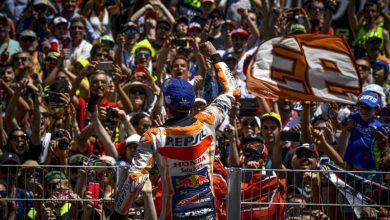 Photo of Katalunya'da kazanın damga vurduğu yarışı Marquez kazandı