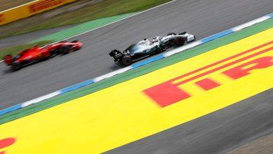 Photo of Almanya'da ilk cep Hamilton'ın, Ferrari 10 ve 20'nci cepte
