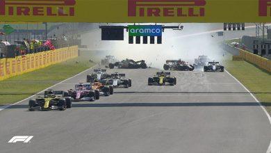 Photo of 2 Kez durdurulan yarışı Hamilton kazandı, 12 araç finişe ulaştı