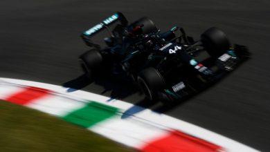 Photo of İtalya'da tarihin en hızlı turuyla Hamilton ilk cepte