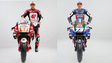 Photo of Marquez ve Nakagami'nin LCR Honda'sı tanıtıldı
