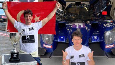 Photo of Bölükbaşı, Le Mans Avrupa Şampiyonası'nda podyumda