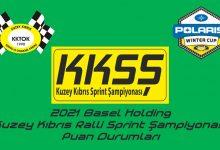 Photo of KKTOK 2021 Ralli Sprint Şampiyonası Puan Durumları