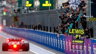 Photo of Rusya'da yağmurun karıştırdığı yarışta Hamilton 100. zaferini aldı